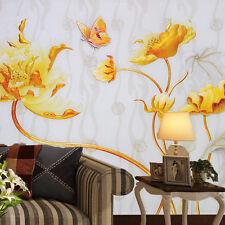 3D Gloden Blossoms 608 WallPaper Murals Wall Print Decal Wall Deco AJ WALLPAPER