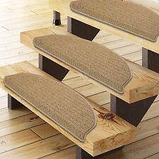Floordirekt Stufenmatte Berlin beige günstiger Treppenschutz im 15er-Set Treppen