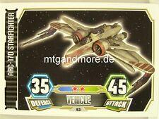 Arc-170 diavolo #063 - Force Attax Serie 3