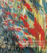 CATALOGUE ANCIENS et NOUVEAUX peintre dessin musée 1985 patrimoine peinture