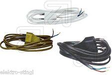 Anschlußkabel Anschlußleitung H03VVH2-F 2x0,75 mit Europastecker Kabel Leitung