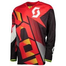 Scott 350 Dirt MX Motocross Jersey / DH Fahrrad Trikot rot/schwarz 2018