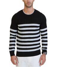 Nautica Mens Betron Striped Pullover Sweater