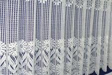 Scheibengardine,Bistrogardine,Cafehausgardine,Meterware,Bauernblume,Höhe 60 cm