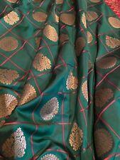 Soft Check silk saree with weaving zari