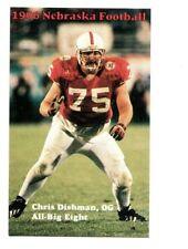 1996 Nebraska Cornhuskers Football Pocket Schedule cards -> You Pick 'em
