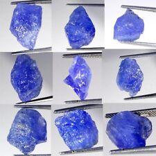 100% Natural Blue Tanzanite Rough Loose Gemstone