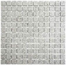 Mosaik Fliese artificial grau Wand Boden Duschwand Bad - 46-aSM23_b