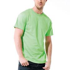Mens Adult Gildan Ultra Cotton Jersey Knit Short Sleeve Colour Plain T Shirt Top