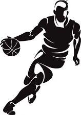 Sp24 Autos Sticker Aufkleber Wandtattoo Sport Basketball 10 cm