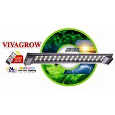 VivaGrow Aquarium LED-Leuchte 50 60 90 120 cm RGB mit Controller 1760-4400 Lumen