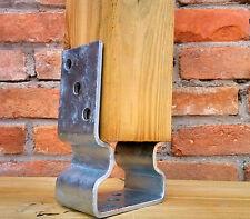 Staffa rialzata per morali in legno, portapilastro sospeso da terra per travi