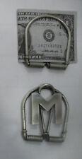 1 fermasoldi PERSONALIZZATO  artigianale  PORTA FERMA SOLDI money clip crafted