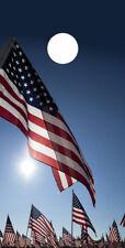 Single- Cornhole Board- Bag Toss wrap - Vinyl Decal- Patriotic American Flag