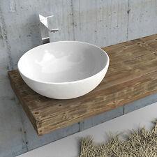 Mensola mensolone da bagno per lavabo in legno di abete massello rustico