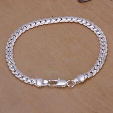 Damenarmband  Armreif  Silber pl. 20cm  Damen Armband / Kette 20/6