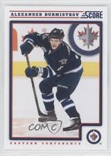 2012-13 Score #483 Alexander Burmistrov Winnipeg Jets Hockey Card