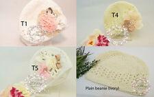 Crochet Kufi Hat Beanie, Toddler, Vintage inspired, Handmade, Photo prop