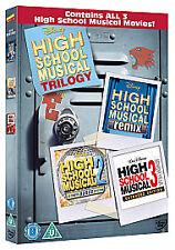 HIGH SCHOOL MUSICAL 1 2 & 3 - DVD - REGION 2 UK