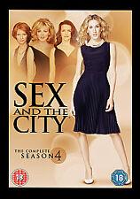 Sex And The City - Series 4 (DVD, 2008, 3-Disc Set, Box Set)