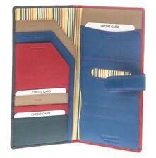 Golunski Leather Solo Travel Wallet /Passport Holder Style 1005 Colour Various