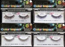 Pick 1 Pair Ardell Professional COLOR IMPACT False Eyelashes Fake Lashes Natural