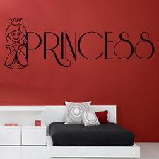 Bambine Principessa Adesivi Murali Artistici Cameretta Bimbi Ragazzi Ragazze