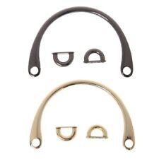 Metal Bag Handle Handbag Purse Strap Hardware Replacement Handmade Accessories
