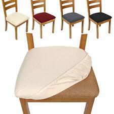 4x housse siège de chaise salle à manger élastique amovible carré extensible G