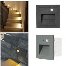 LED Treppenlicht mit Bewegungsmelder Ausenleuchte Treppenbeleuchtung Wandleuchte