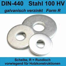 DIN 440 R 22 Unterlegscheiben Holzbauscheiben A2 Edelstahl ISO 7094 M20 20-500St