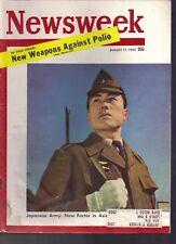 Newsweek: Japanese Army   August 17, 1953