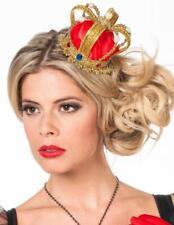Minikrone Mini Krone Prinzessin Frosch Königin Kleid Kostüm Queen König Märchen