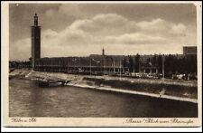 KÖLN Cöln um 1920/30 Pressa Partie Blick vom Rheinufer Verlag Leo Hofstein & Co.