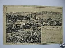 AK St. Peter 1899 sig. H. Daur Kunstkarte Darmstadt