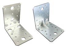 Winkelverbinder Stuhlwinkel Bauwinkel verzinkt 50x50/70x70/90x90/105x105 mm