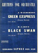 Rhythms Orchestra#GREEN EXSPRESS-Treno Verde-BLACK SWAN-Cigno Nero#Saphox 1950