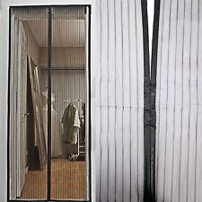 Fliegengitter Moskitonetz Insektenschutz für Tür durchgehende Magnetverschlüsse
