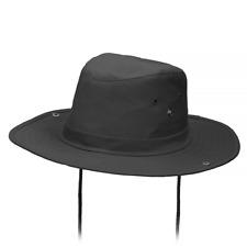 Mil-Tec US Army Semi-Rigide Boonie Bush Hat pour Safari Chasse Airsoft Noir