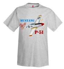 TEE SHIRT  Manches Longues ENF AVION MUSTANG P-51 S  M  L  XL  XXL  XXXL