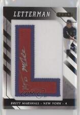 2008 Razor Letterman 20 #BEM-L1 Brett Marshall New York Yankees GCL Auto Card