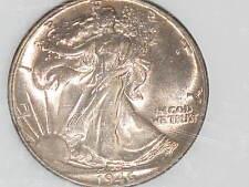 1946 Liberty Walking Silver Half Dollar Beautiful Toned Uncirculated E0039