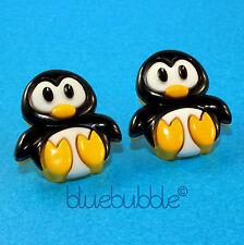 Grande funky Percy pinguino Orecchini Carino Kitsch CHICK Dolci Retrò DIVERTENTE COOL Bird