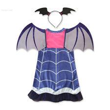 Kids Girls Vampirina Costume Halloween Party Cosplay Costume Outfits Fancy Dress