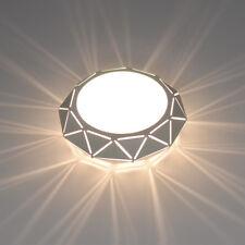 5W/12W LED Ceiling Light Recessed Lighting Modern Decor Lamp Iron PC Living Room