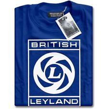 Nuevo British Leyland logotipo Classic Vintage Motoring Coches Para Hombre Blue Camiseta Xs - 3xl