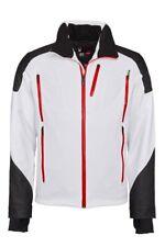 Spyder Herren 153038-100 Skijacke Heir Jacket Recco White/Black/Volcano