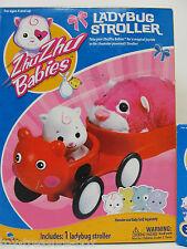 Zhu Zhu Babies - Ladybug Stroller - Zhu Zhu Hamster Powered Baby Stroller