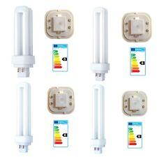 Ahorro de energía lámpara bombilla 4 Pin CFL Fluorescente Cool blanco 10w 13w 18w 26w