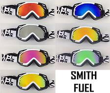 SMITH OPTICS MOTOCROSS MX GOGGLE CHROME MIRROR LENS to fit FUEL V1 V2 bmx mtb